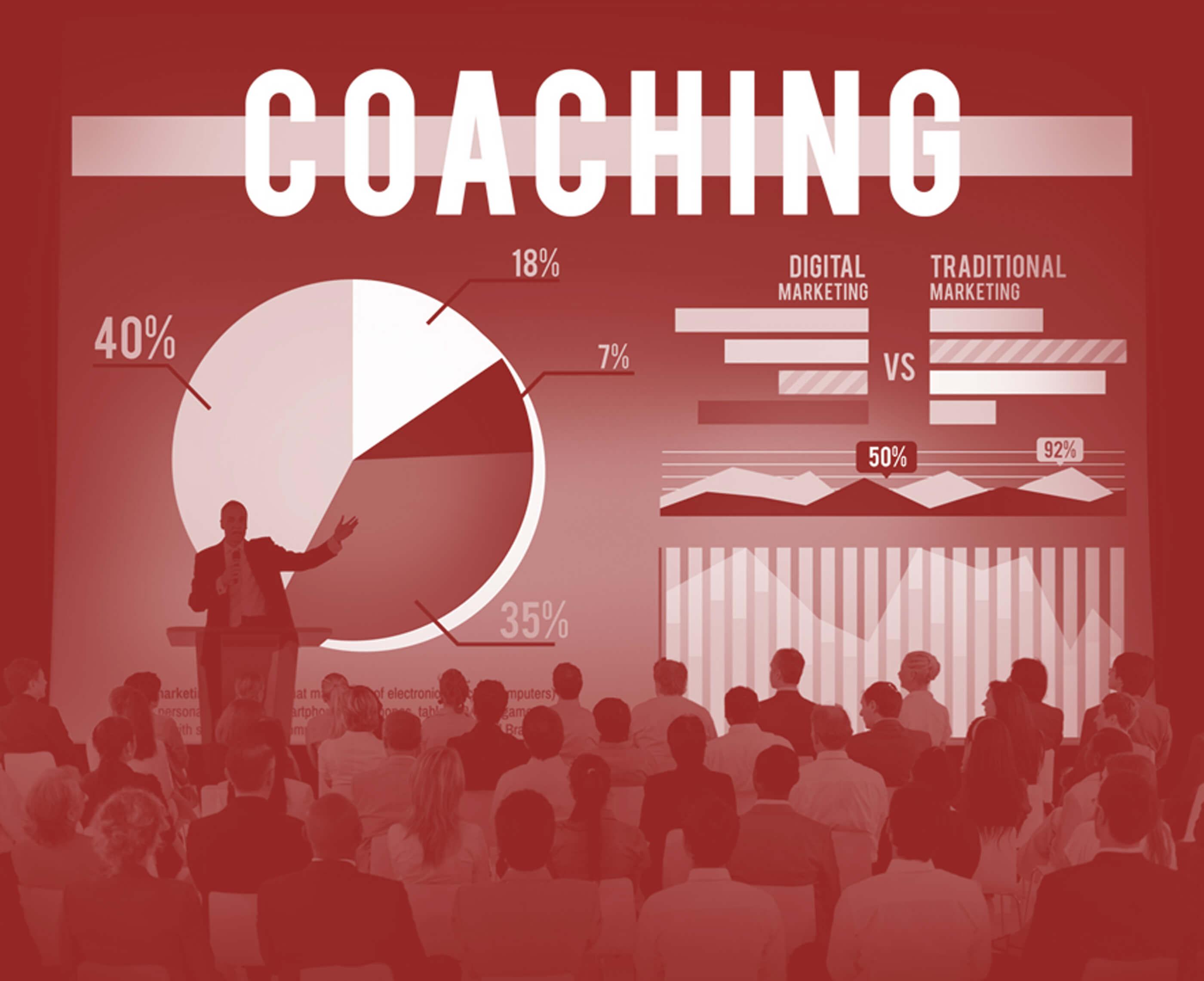 Businessman is Coaching