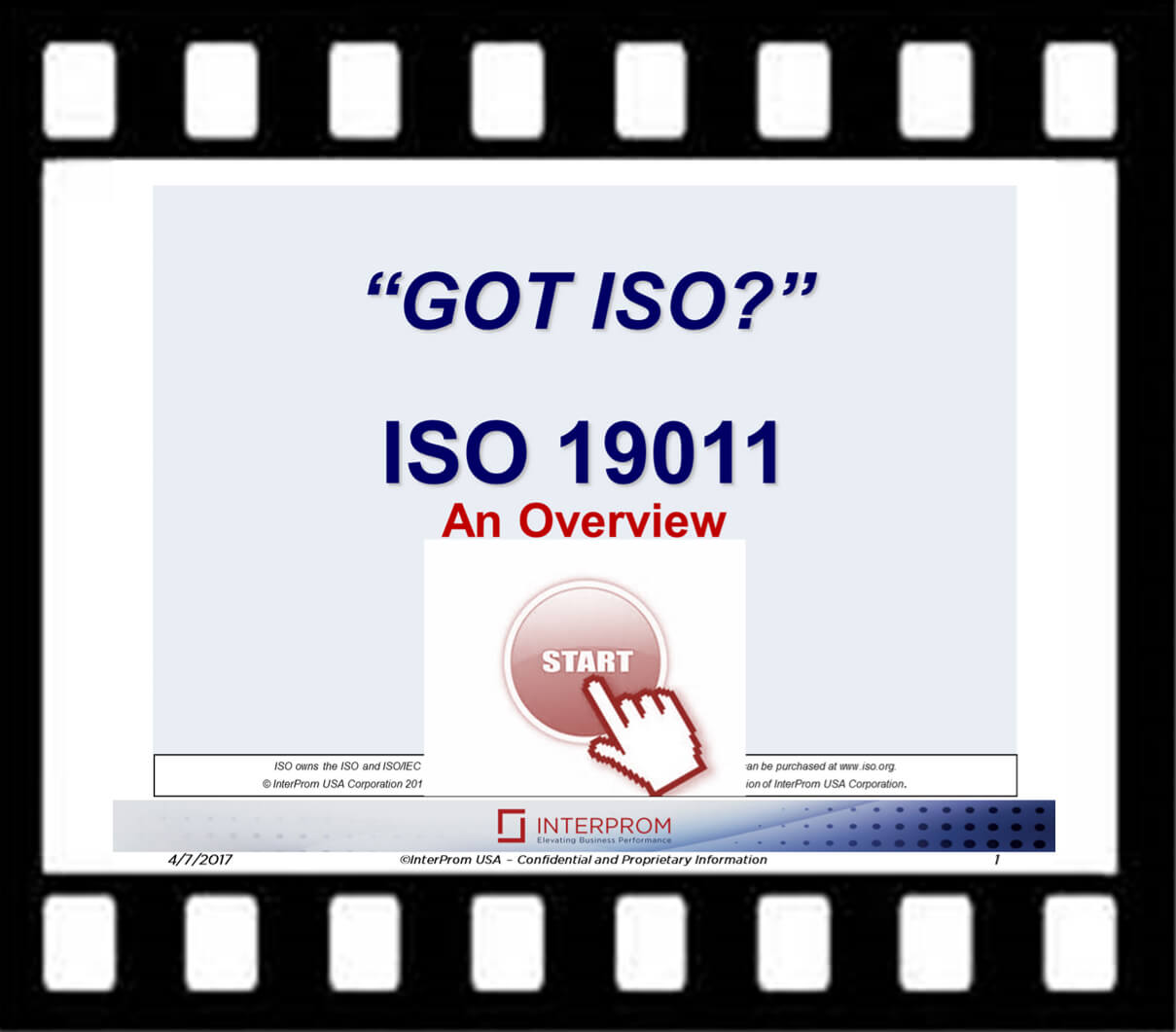 GOT ISO 19011 Overview Webinar Recording