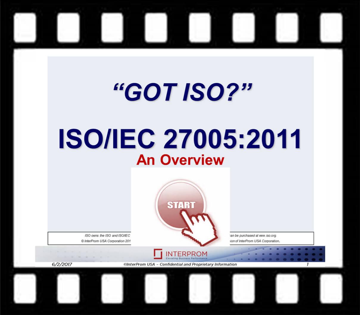 GOT ISO/IEC 27005 Overview Webinar Recording