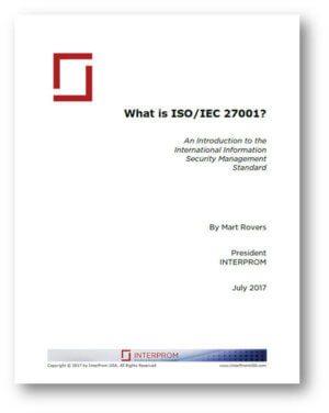What is ISO-IEC 27001 - White Paper