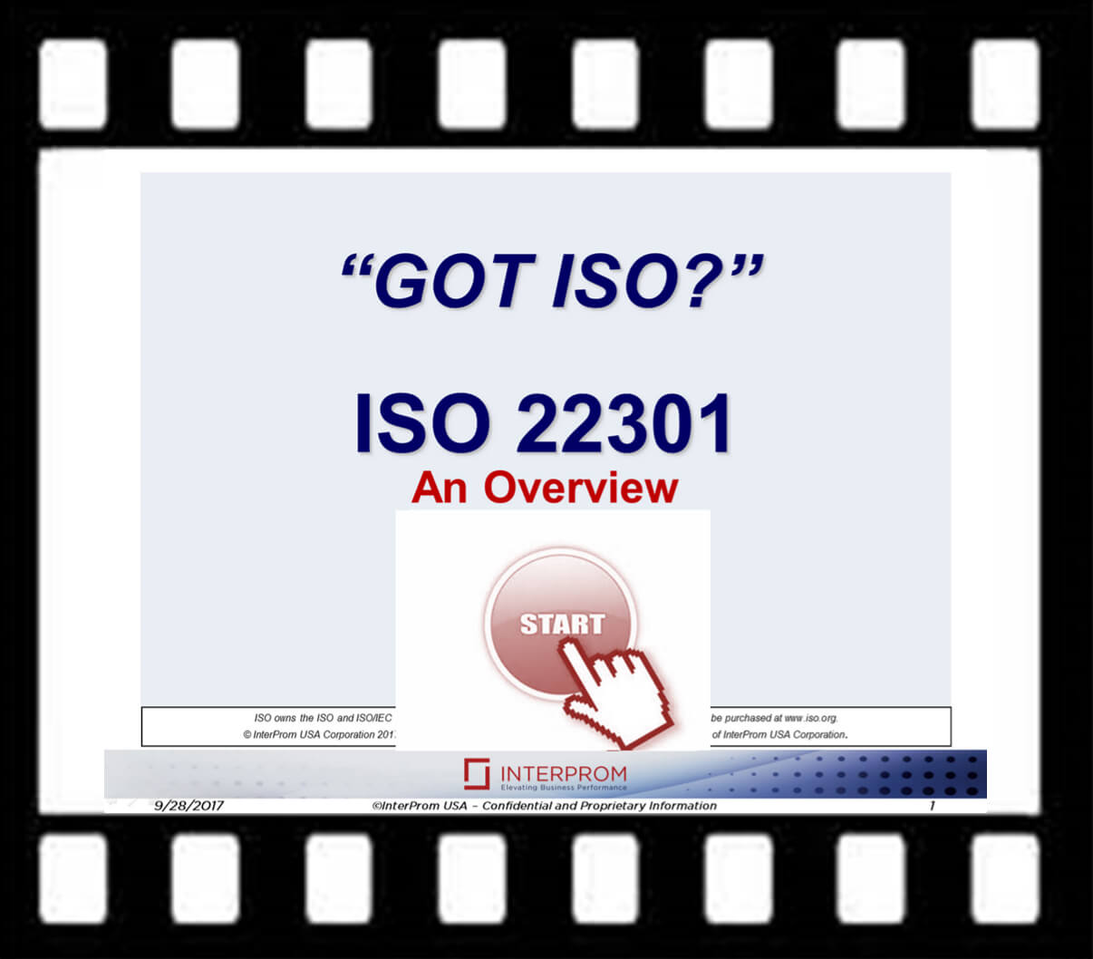 GOT ISO 22301 Overview Webinar Recording