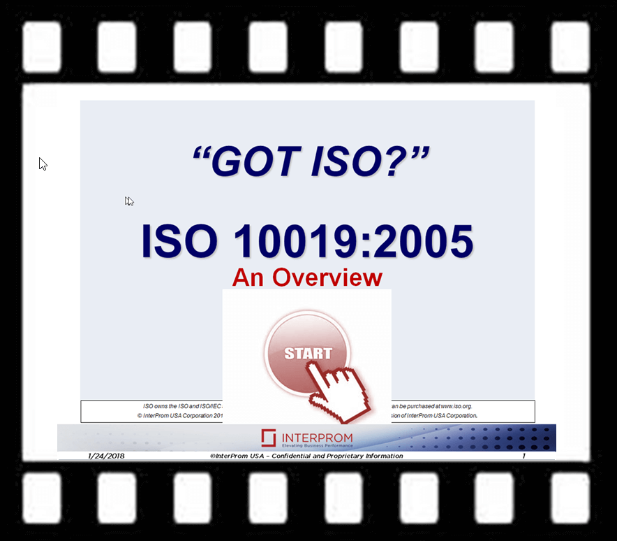 GOT ISO 10019 Overview Webinar Recording
