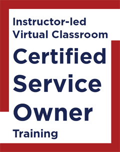Certified Service Owner
