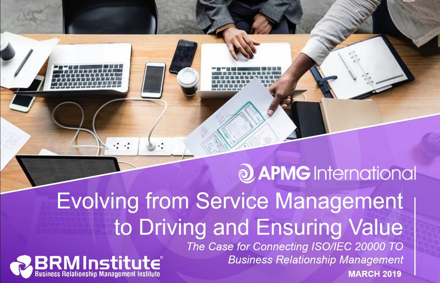 Evolving from Service Management to Driving and Ensuring Value