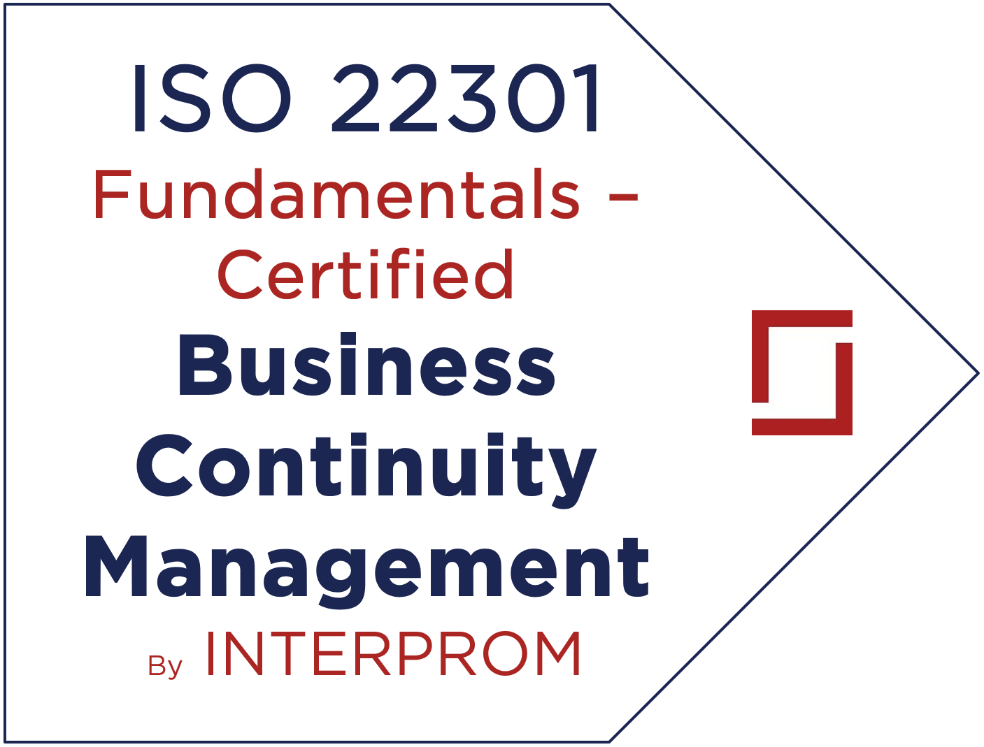 ISO 22301 Fundamentals – Business Continuity Management