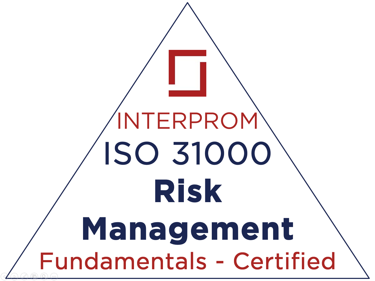 ISO 31000 Fundamentals Certification Training