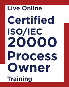 Live Online Certified ISO IEC 20000 Process Owner Training