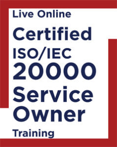 Live Online Certified ISO IEC 20000 Service Owner Training