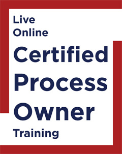 Live Online Certified Process Owner Training