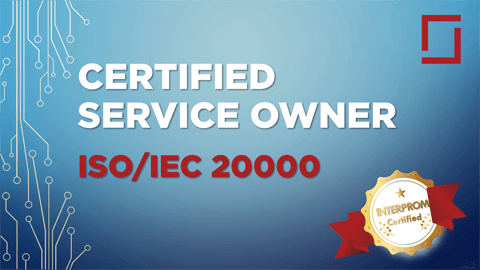 Curriculum Certified ISO/IEC 20000 Service Owner Training - CISMSO Course