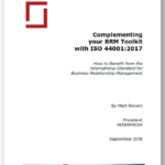 ISO 44001 for External BRMs