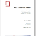 White Paper - What is ISO IEC 20000