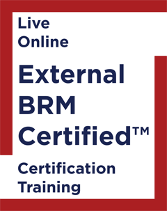 External BRM Certified Certification Training