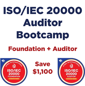 ISO IEC 20000 Auditor Bootcamp Training