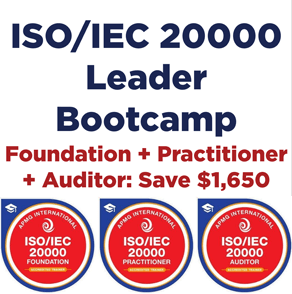 ISO/IEC 20000 Leader Bootcamp Training